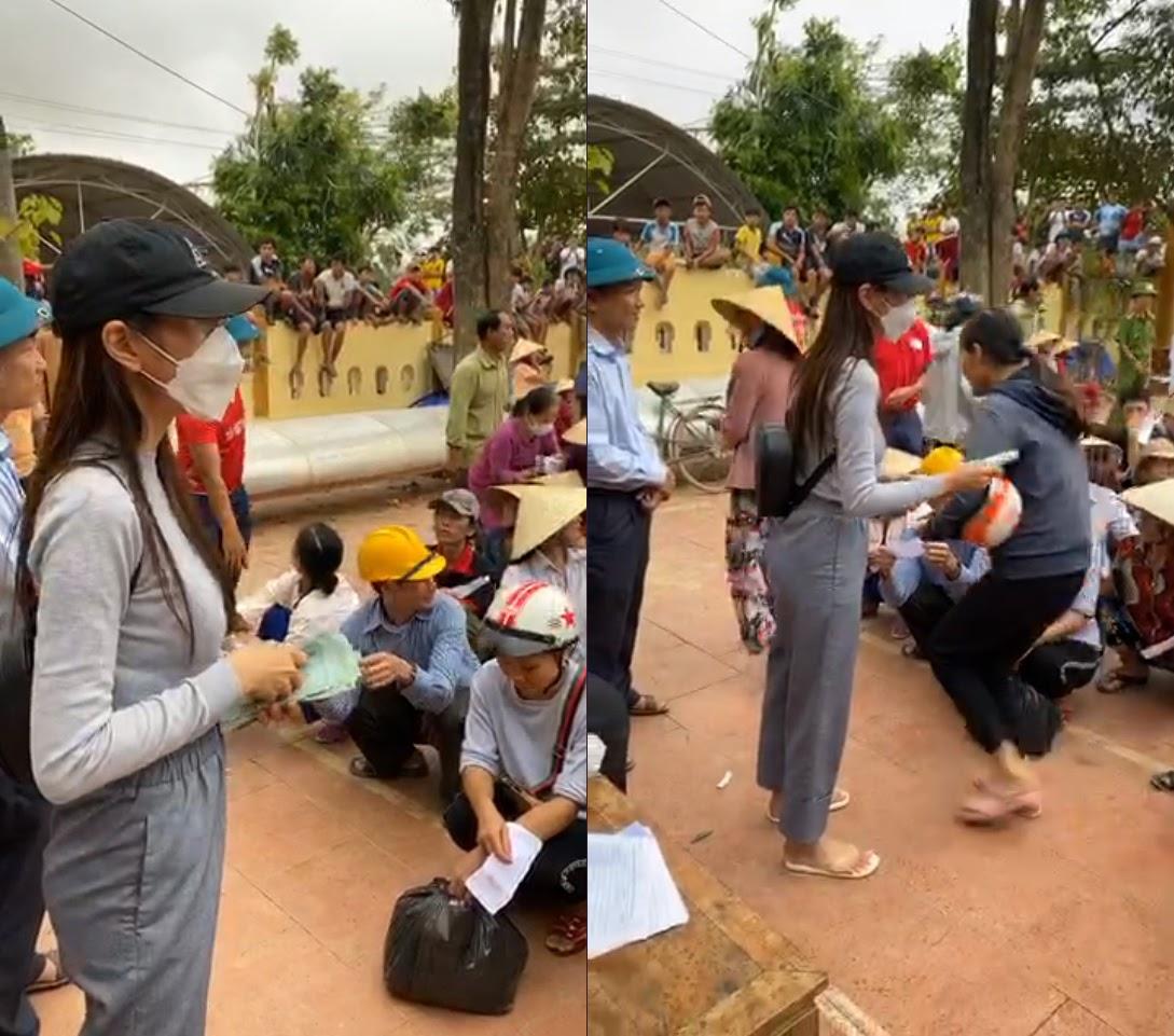 Cán bộ thôn lên tiếng chuyện thu lại tiền Thủy Tiên ủng hộ người dân, CĐM: Quá thất vọng!