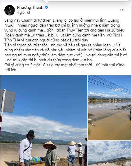 Truyền hình Quảng Ngãi chính thức lên tiếng sau phát ngôn của Phương Thanh: Những lời nói đã làm nhói thêm ruột gan cho người dân - Hình 3