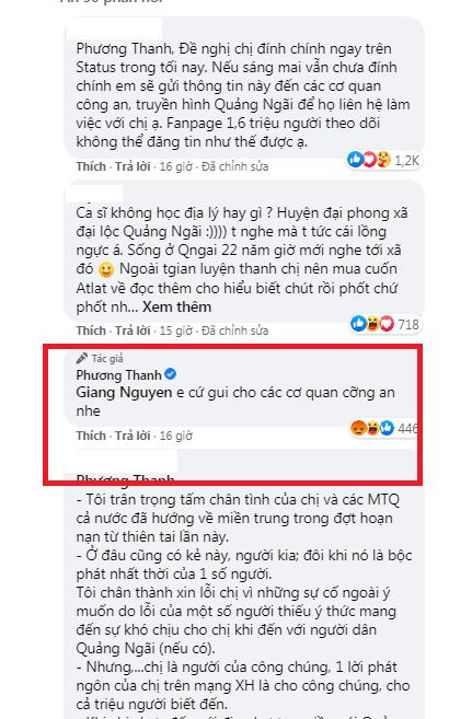 Truyền hình Quảng Ngãi chính thức lên tiếng sau phát ngôn của Phương Thanh: Những lời nói đã làm nhói thêm ruột gan cho người dân - Hình 6