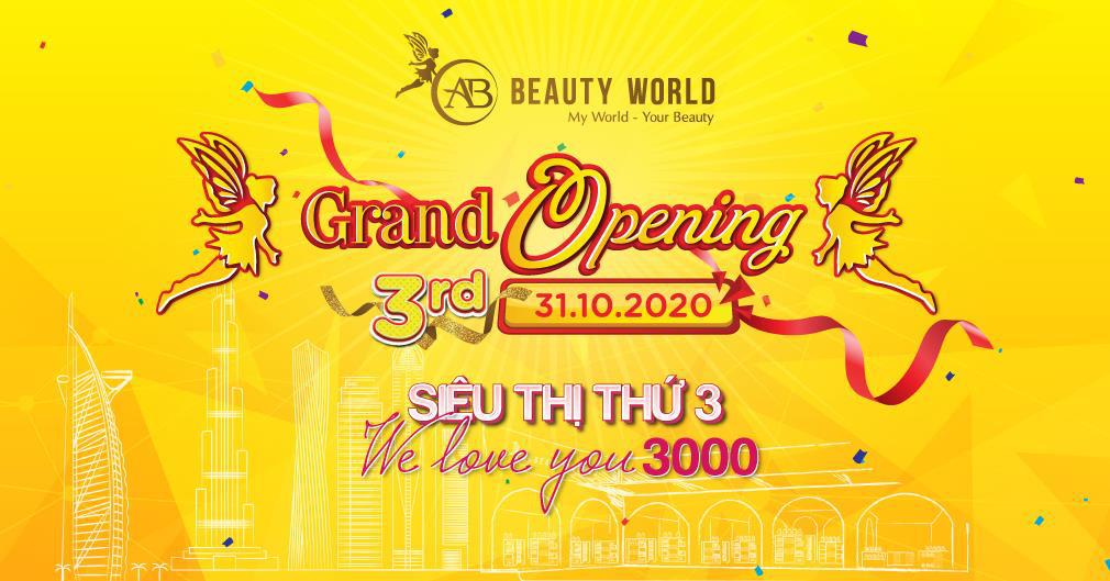 3.000 mỹ phẩm chính hãng giảm 50% giá nhân khai trương siêu thị AB Beauty World 3 - Hình 5