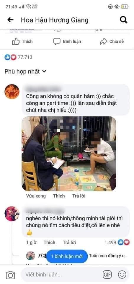 Hương Giang bị CĐM 'bóc' dàn dựng bối cảnh cùng công an đến nhà antifan, 'hiệp sĩ' Nguyễn Sin cũng lên tiếng