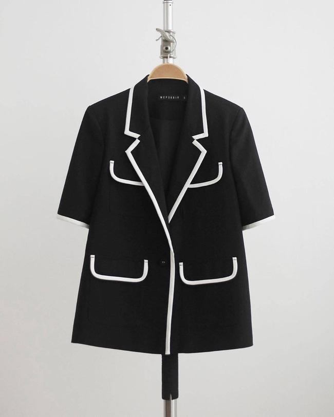 Nhìn Hà Tăng diện blazer cộc tay, hội chị em chỉ muốn copy ngay set đồ này để mặc đi làm - Hình 12