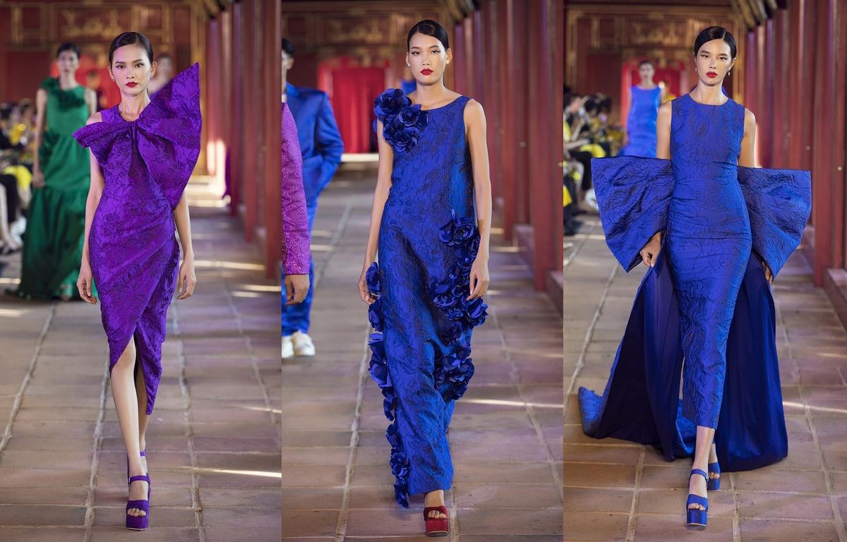 Váy áo sắc màu của Vũ Ngọc và Son - Hình 3