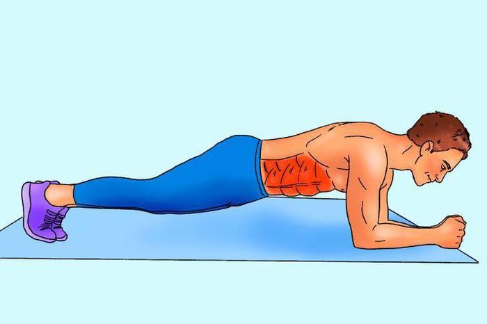 10 phút tập luyện mỗi ngày để có cơ bụng 6 múi săn chắc - Hình 2