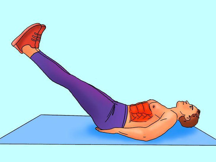 10 phút tập luyện mỗi ngày để có cơ bụng 6 múi săn chắc - Hình 4