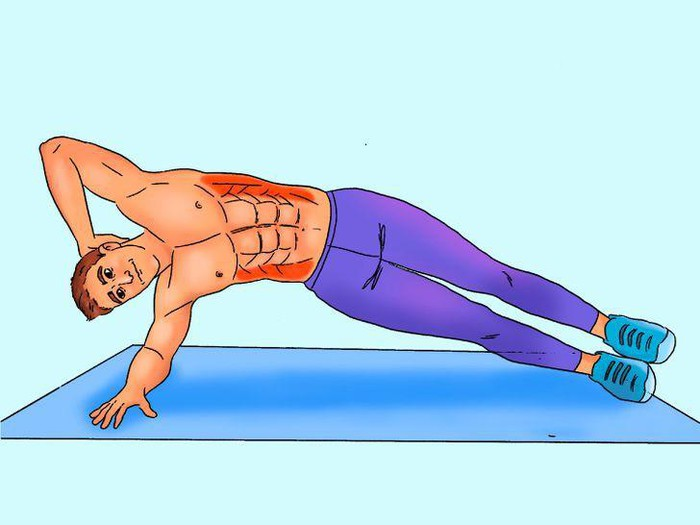 10 phút tập luyện mỗi ngày để có cơ bụng 6 múi săn chắc - Hình 6