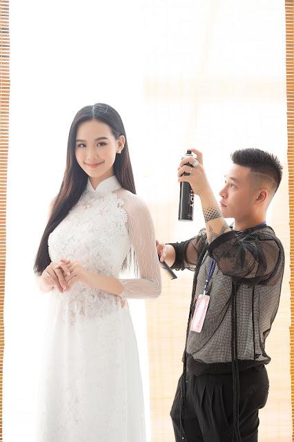 Phù thủy Quân Nguyễn - Pu Lê giúp loạt nụ hậu lột xác tại Hoa hậu Việt Nam 2020 - Hình 3