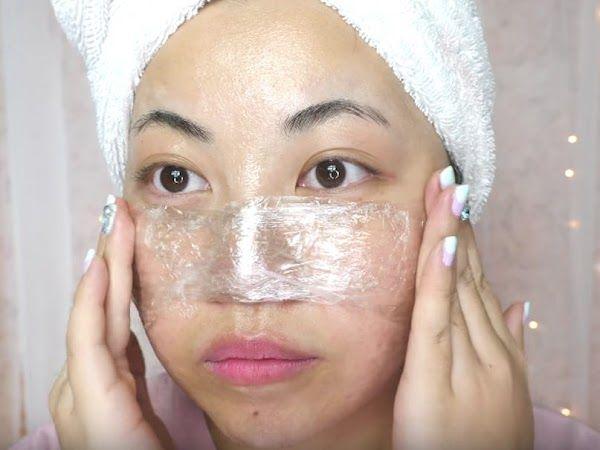 Tăng hiệu quả trị mụn đầu đen bằng cách dùng thêm màng bọc thực phẩm - Hình 3