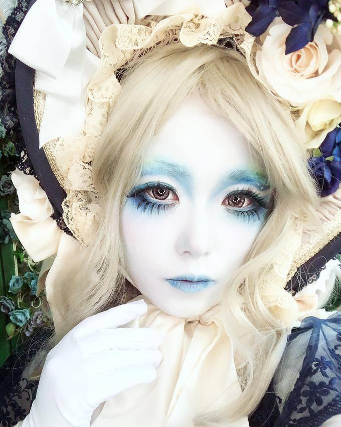 Choáng váng những cách làm đẹp kỳ dị của giới trẻ Nhật Bản - Hình 4