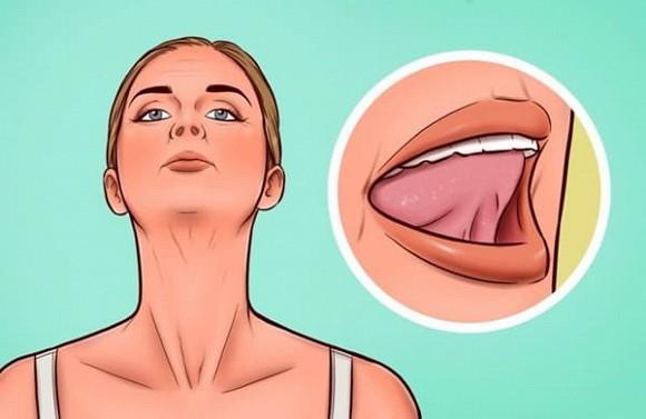 7 bài tập giúp thoát khỏi tình trạng chảy xệ quanh cằm và cổ gà tây - Hình 7