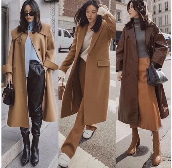 Làm thế nào để mặc quần áo lạc đà? Tìm hiểu các cách phối đồ này, vừa thời trang vừa ấm áp và phá cách - Hình 5