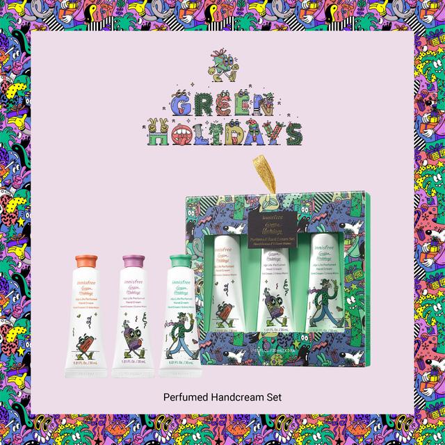 Giáng sinh xanh, hạnh phúc an lành - Đón Noel nhiệt đới với BST giới hạn Green Holidays của Innisfree - Hình 5