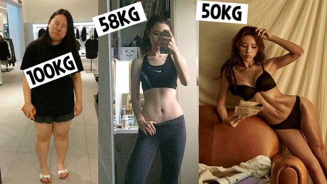 Blogger Hàn giảm 50 kg trong 2 năm - Hình 7