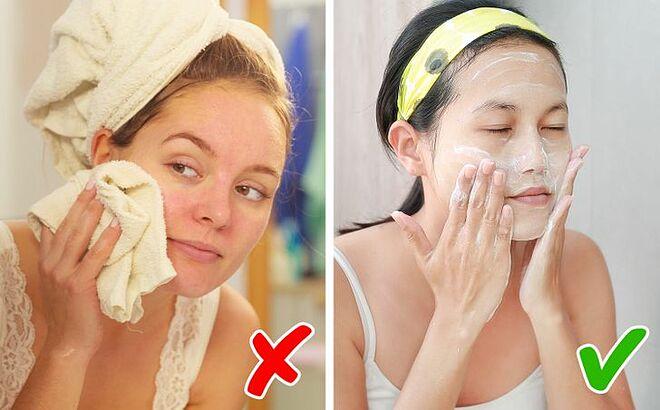 Rửa mặt trong ít nhất 1 phút mới là đủ - Hình 1