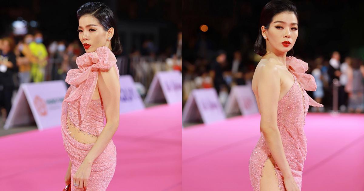 """Lệ Quyên và chồng cũ """"kẻ trước, người sau"""" xuất hiện tại Chung kết Hoa hậu Việt Nam 2020"""