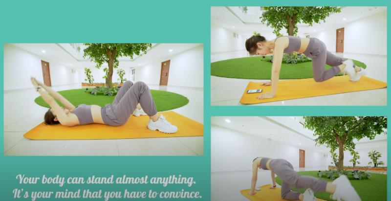 Theo chân hotgirl 7 thứ tiếng Khánh Vy học bí kíp giảm cân, giữ dáng cực chuẩn chỉnh! - Hình 3