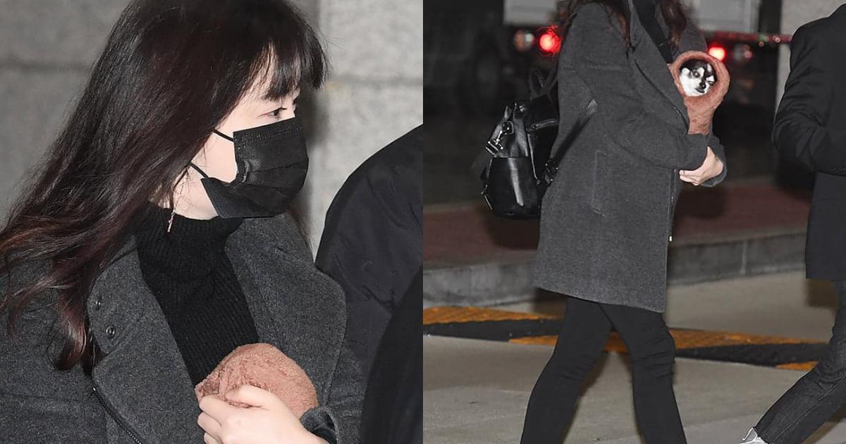 'Nàng Cỏ' Goo Hye Sun gây chú ý khi xuất hiện với thân hình phát tướng, điều gì khiến vòng 2 của cô nhô cao?