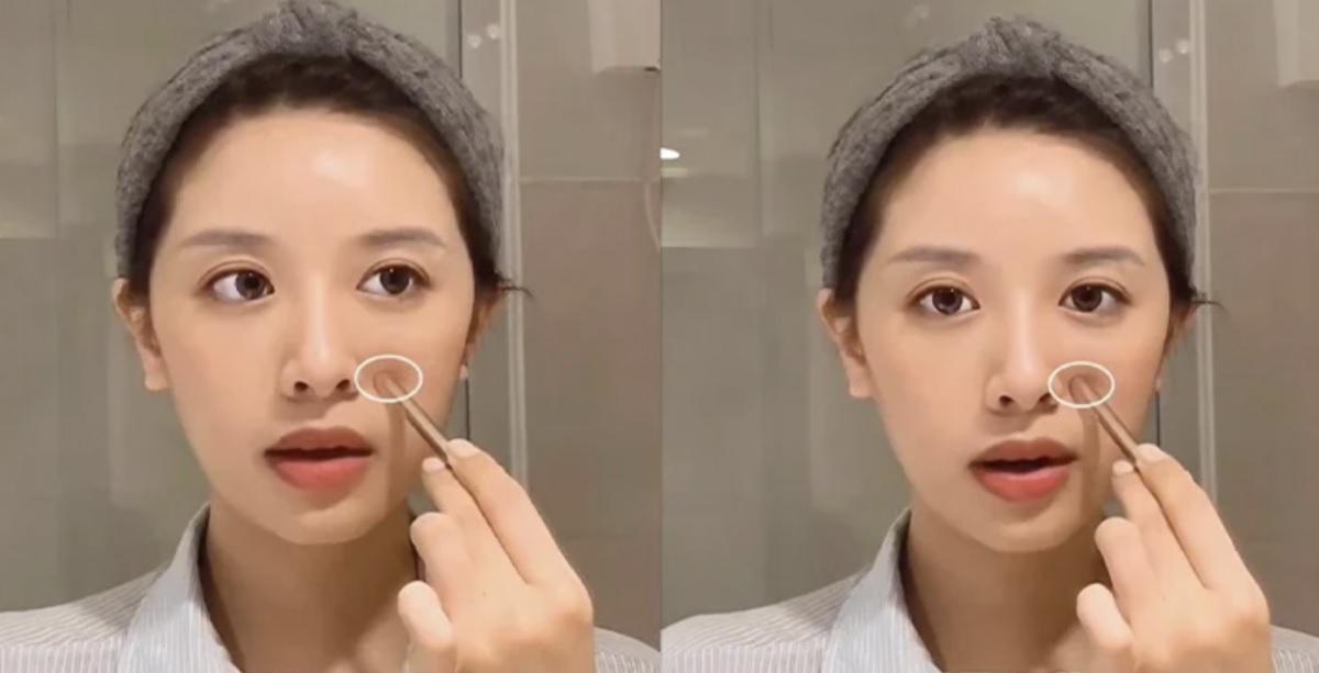 Chuyên gia Nhật có phương pháp xóa nếp nhăn rãnh miệng chỉ sau 1 phút nhờ massage với cọ trang điểm - Hình 4