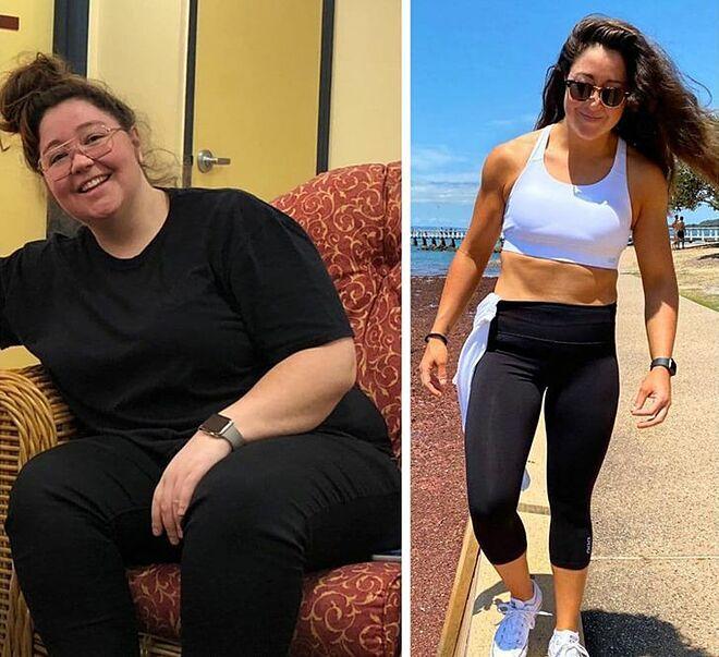 Giảm từ 110 kg xuống 65 kg nhờ học lỏm ở phòng gym - Hình 1