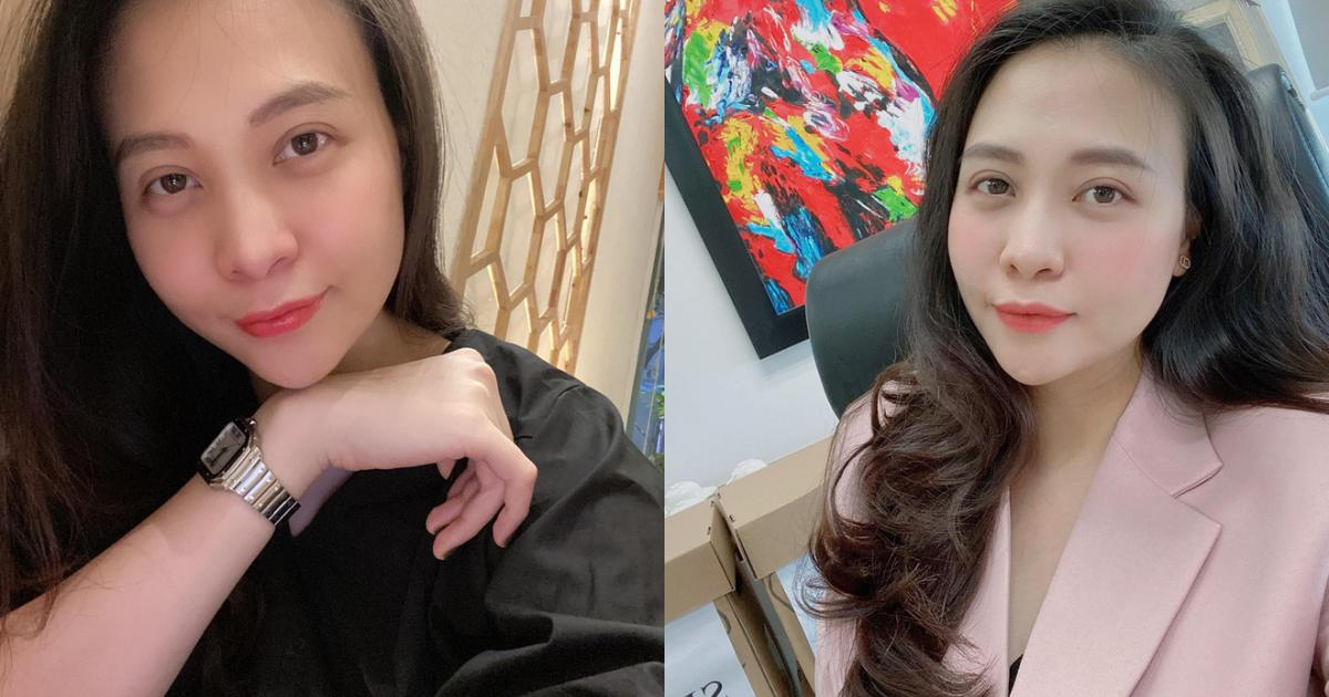 """Khung hình gây sốt của """"mẹ bỉm"""" Đàm Thu Trang sau 4 tháng hạ sinh: Body lột xác, đẹp mặn mà chuẩn phu nhân hào môn"""