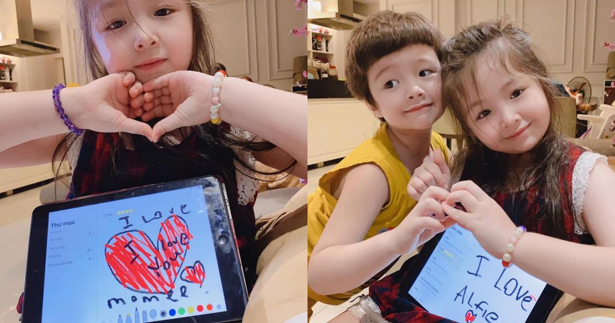 'Tan chảy' trước loạt ảnh xinh xắn mới nhất của Cadie Mộc Trà – con gái Elly Trần