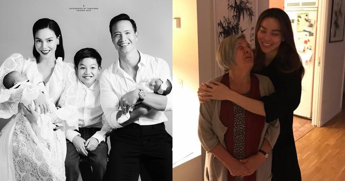 HOT: Hồ Ngọc Hà lần đầu khoe ảnh gia đình 5 thành viên, tiết lộ mối quan hệ với bố mẹ chồng