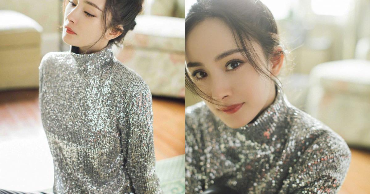 Dương Mịch gây sốt khi đeo khẩu trang kim cương, nhan sắc trong suốt như pha lê khiến dân mạng than thở 'Bỏ khẩu trang ra chị ơi'