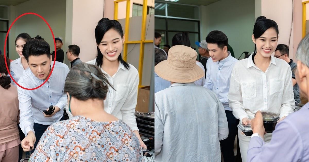 HH Đỗ Thị Hà mặc giản dị, cười tươi khi phát cơm cho bệnh nhân ung thư - Hình 11