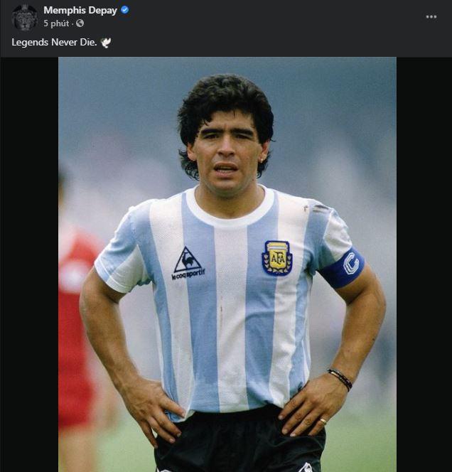 Ronaldo tri ân huyền thoại Maradona - Hình 5