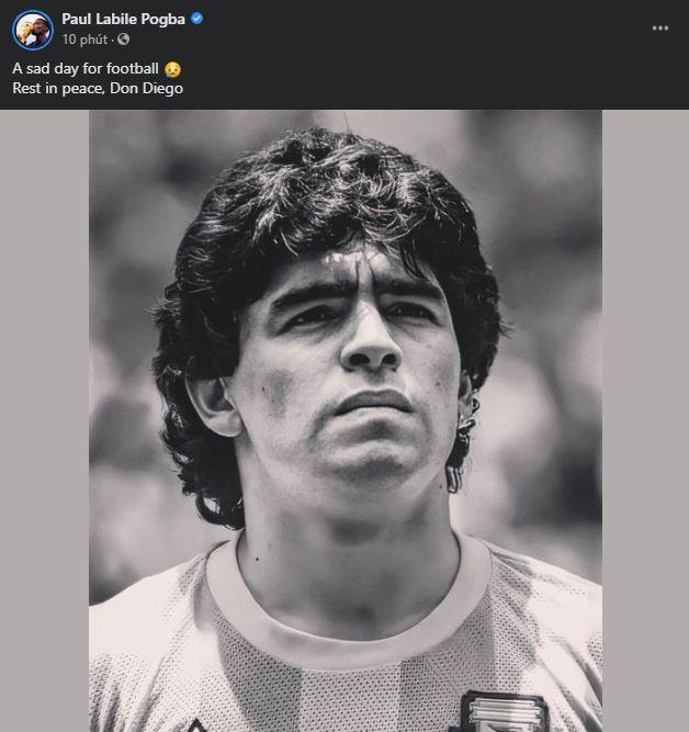 Ronaldo tri ân huyền thoại Maradona - Hình 4
