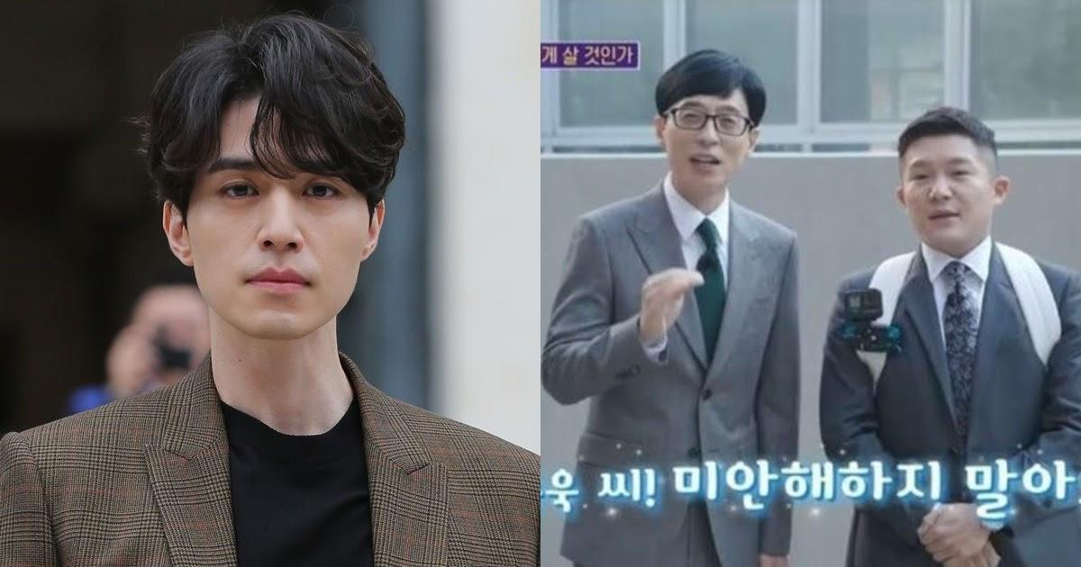 Xôn xao chuyện Lee Dong Wook phải gửi xe cà phê để xin lỗi ê kíp chương trình của Yoo Jae Suk