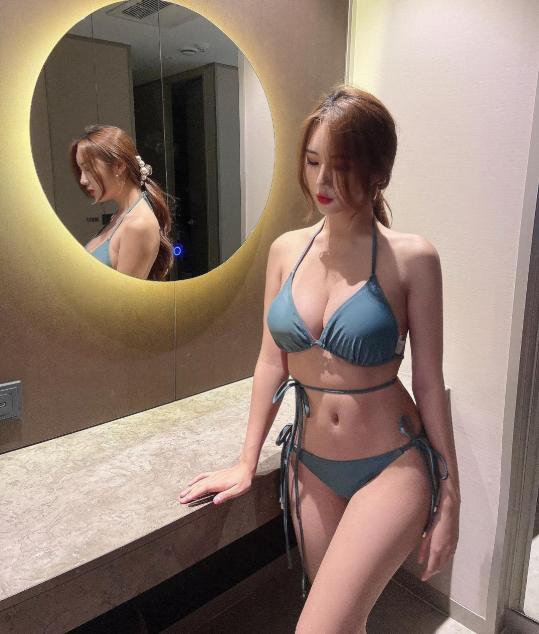 Bị chê quá kín đáo, nữ gymer chiêu đãi fan với bộ bikini mỏng manh khoe vẻ đẹp đẫy đà - Hình 6