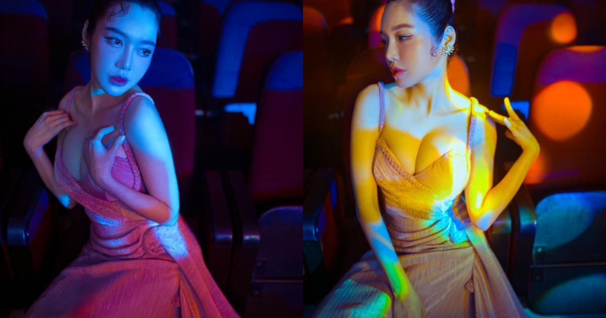 Elly Trần diện đầm sexy, thân thiết bên Dế Choắt
