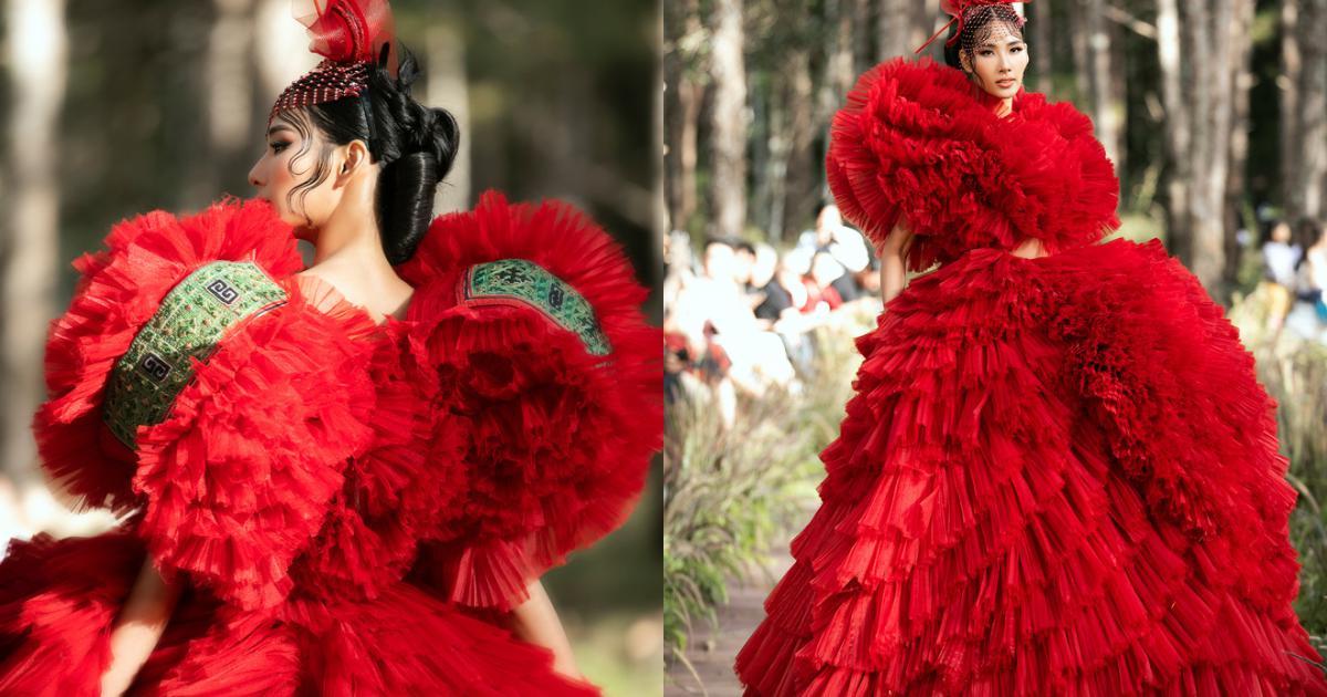 """Sự kiện đặc biệt giữa rừng: Con gái Đoan Trang xuất thần, Hoàng Thuỳ """"chìm"""" trong váy khủng, thí sinh Miss Tourism bức tử vòng 1"""