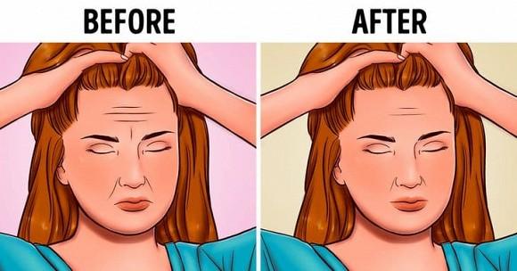 6 mẹo mát-xa đầu giúp giảm nếp nhăn, trẻ hóa khuôn mặt - Hình 1