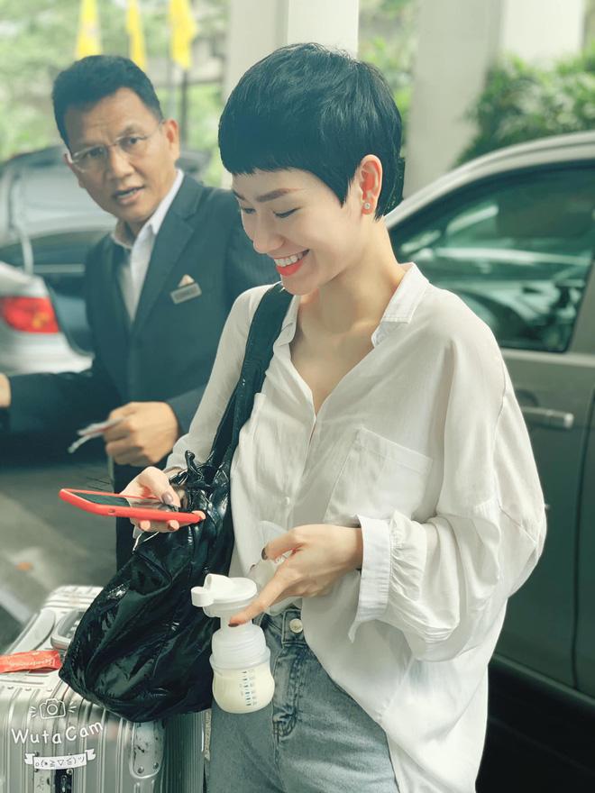 Style trái ngạch của Trà My - Phan Như Thảo khi thành mẹ bỉm sữa: Người chiến hết nút, người bất ngờ chân phương - Hình 9