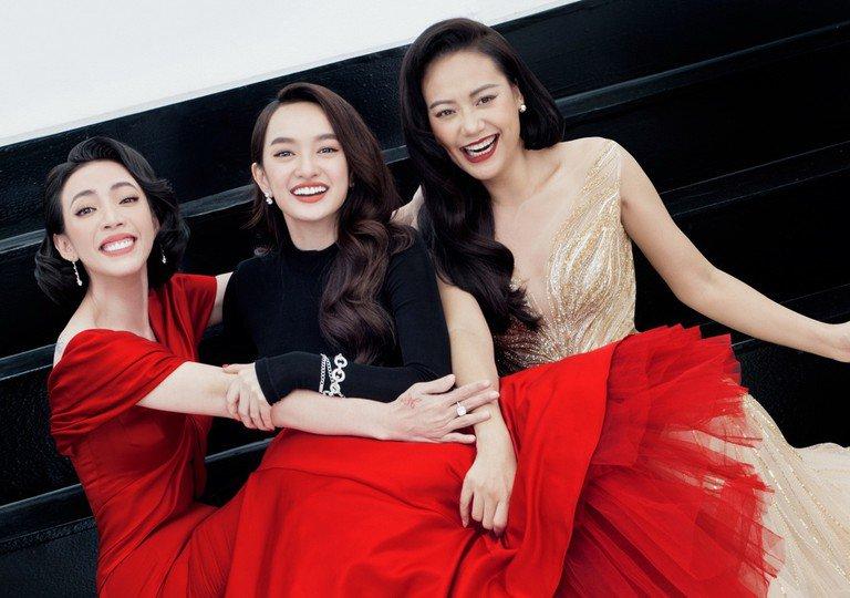 Nhan sắc mỹ nhân Tiệc trăng máu: Hồng Ánh đẹp từ thuở 20, Thu Trang thăng hạng nhờ thẩm mỹ - Hình 2