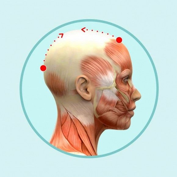 6 mẹo mát-xa đầu đơn giản giúp giảm nếp nhăn, da dẻ hồng hào căng mịn - Hình 2