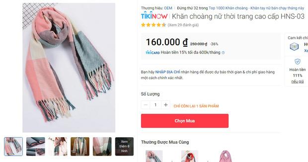 5 mẫu khăn len từ 39k bán chạy nhất kèm cả review xịn cho bạn - Hình 8