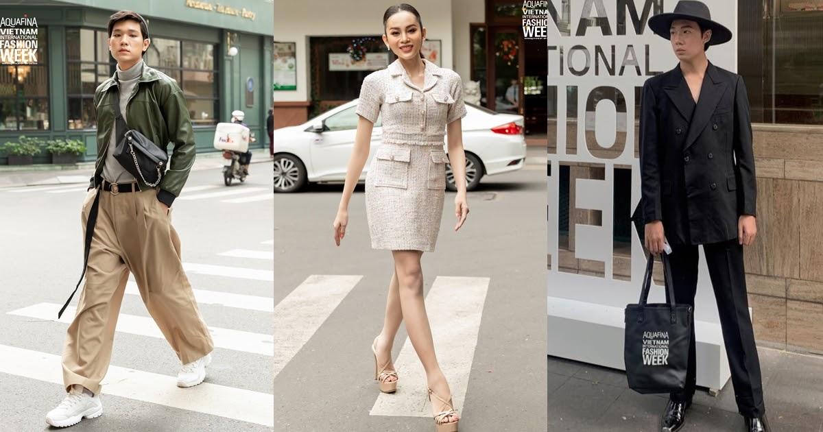 Người đẹp chuyển giới Lương Mỹ Kỳ thanh lịch, lộ diện top 3 Outfit ấn tượng tại The Best Street Style Day 01