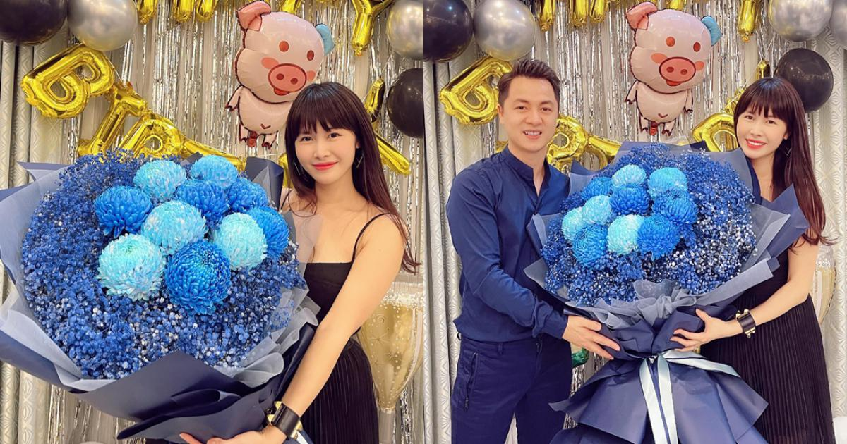 Vợ chồng Dương Khắc Linh dự sinh nhật Đăng Khôi