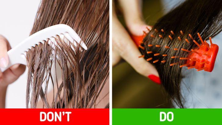 10 thói quen khiến tóc ngày một mỏng hơn - Hình 10