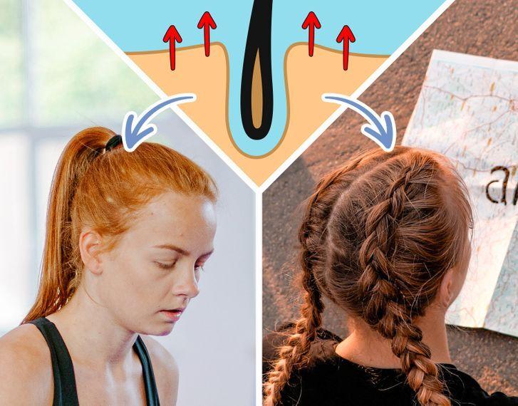 10 thói quen khiến tóc ngày một mỏng hơn - Hình 3