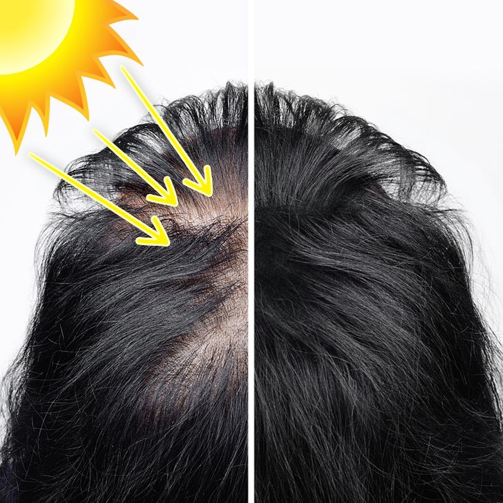 10 thói quen gây tổn thương cho tóc - Hình 2