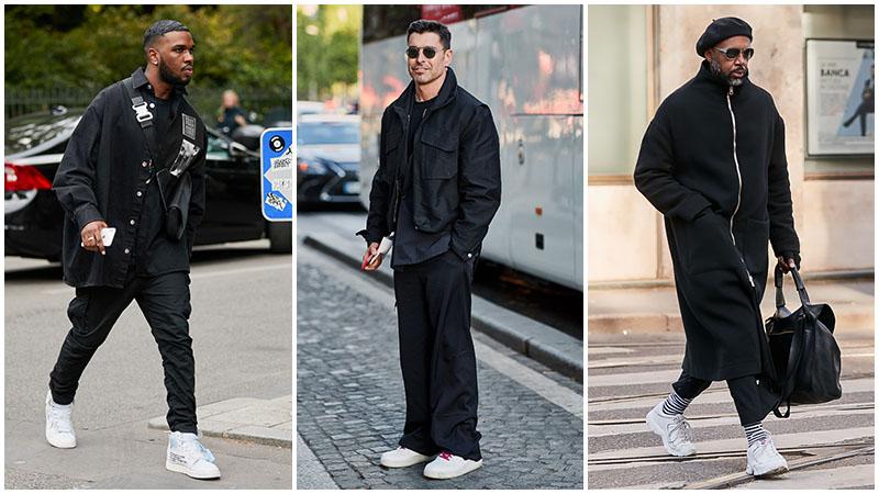 Bí quyết chọn trang phục toàn màu đen cho quý ông sành điệu - Hình 5