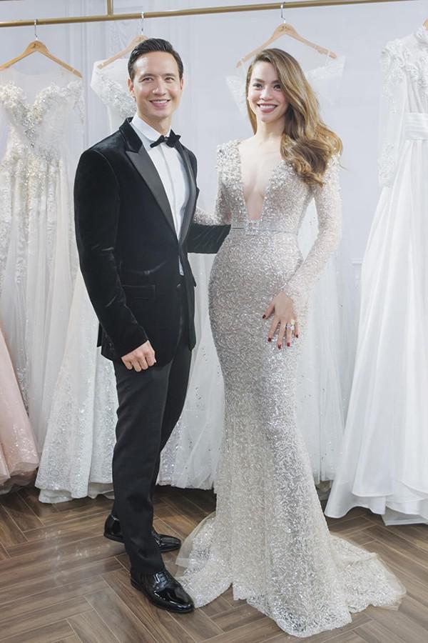 Hồ Ngọc Hà khoe ảnh lộng lẫy trong bộ váy cưới, nhan sắc bà mẹ 3 con ngày một lên hương - Hình 7