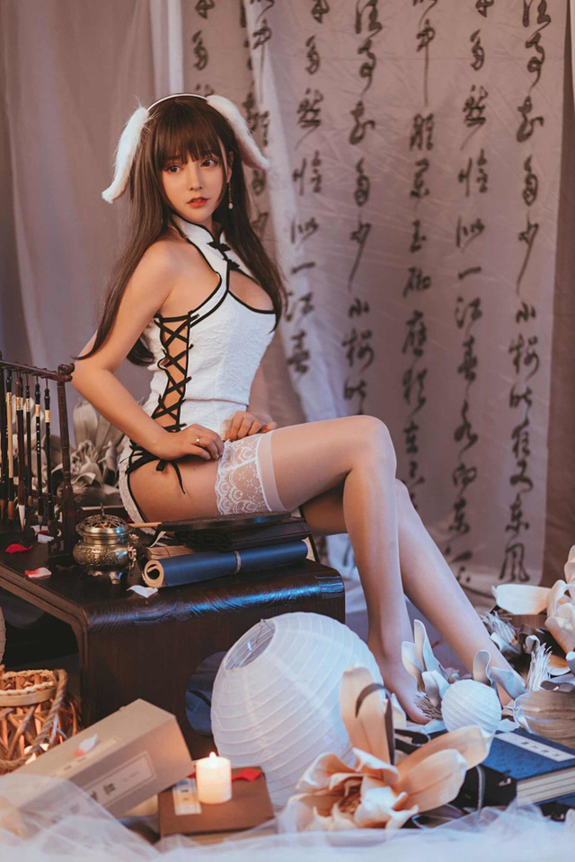 Surprisingly, the beauty of the cheongsam cosplayer - Photo 8