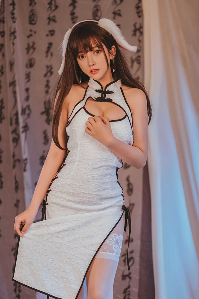 Surprisingly, the beauty of the cheongsam cosplayer - Photo 9