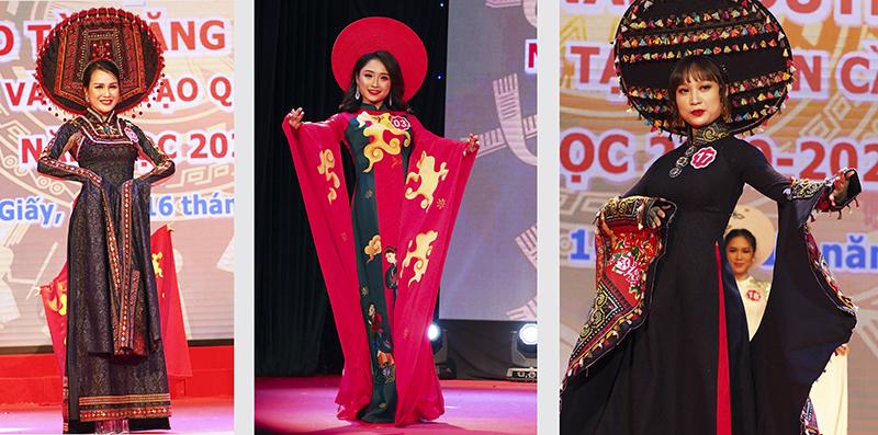 Nét đẹp thuần khiết trong trang phục áo dài truyền thống. - Hình 14