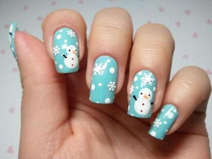 Gợi ý loạt mẫu nail Noel cực xinh cho chị em đi chơi - Hình 7